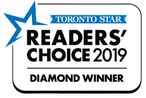 Toronto Star Readers Choice 2019 Diamond Winner