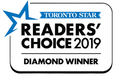 Toronto Star Readers' Choice 2019 Diamond Winner